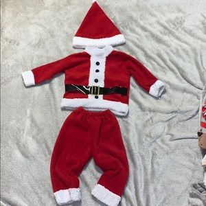 Baby/toddler Santa clause outfit